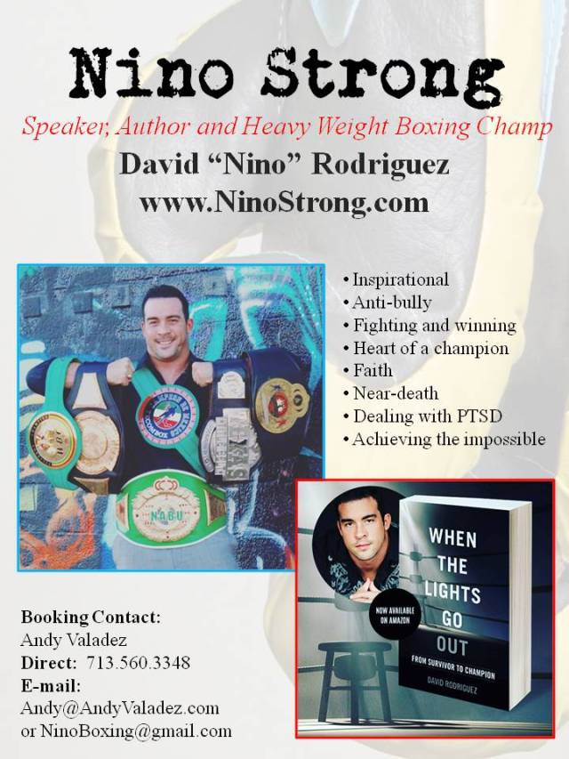 Speaking Flyer Nino Strong - David Rodriguez