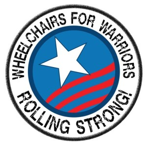 Wheelchairs for Warriors Logo